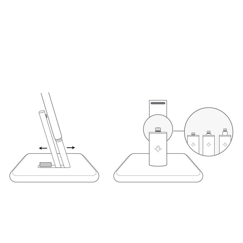 Twelve South - HiRise 2 voor iPhone en iPad Silver 05