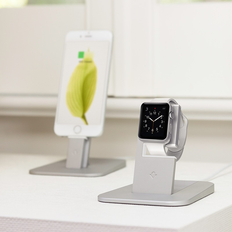 Twelve South - HiRise voor Apple Watch Silver 06