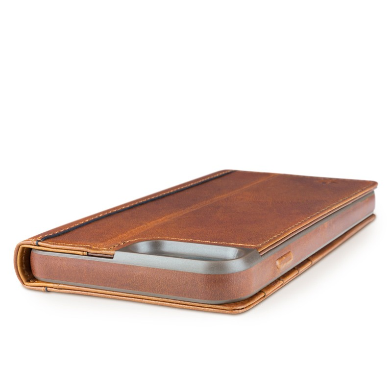 Twelve South - Journal Wallet iPhone 7 Plus hoesje Brown 03