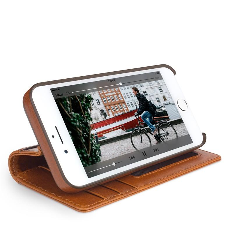 Twelve South - Journal Wallet iPhone 7 Plus hoesje Brown 04