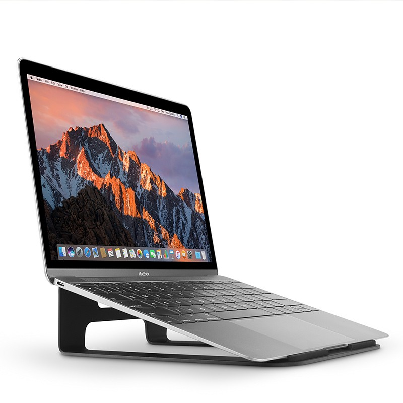 Twelve South - ParcSlope voor MacBook en iPad Pro Black 01