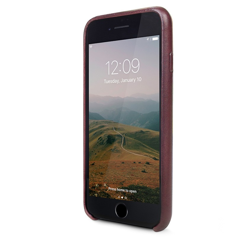 Twelve South - RelaxedLeather iPhone 7 Plus hoesje Marsala 02