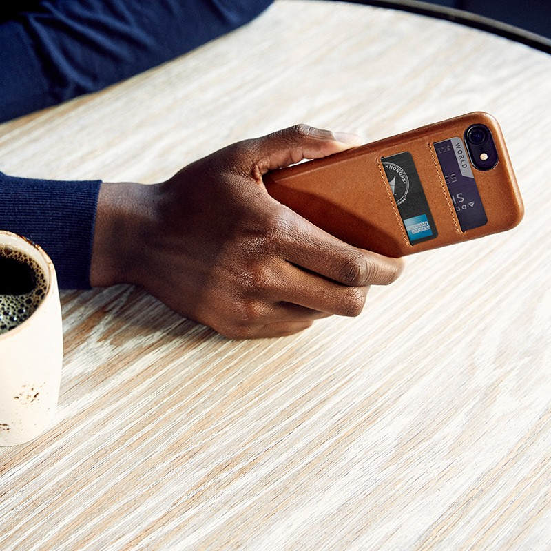 Twelve South - RelaxedLeather iPhone 7 Wallet hoesje Warm Taupe 07