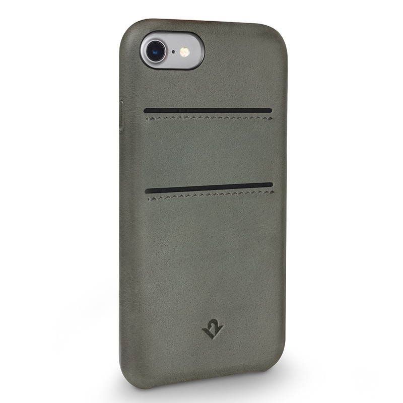Twelve South - RelaxedLeather iPhone 7 hoesje Herb 01