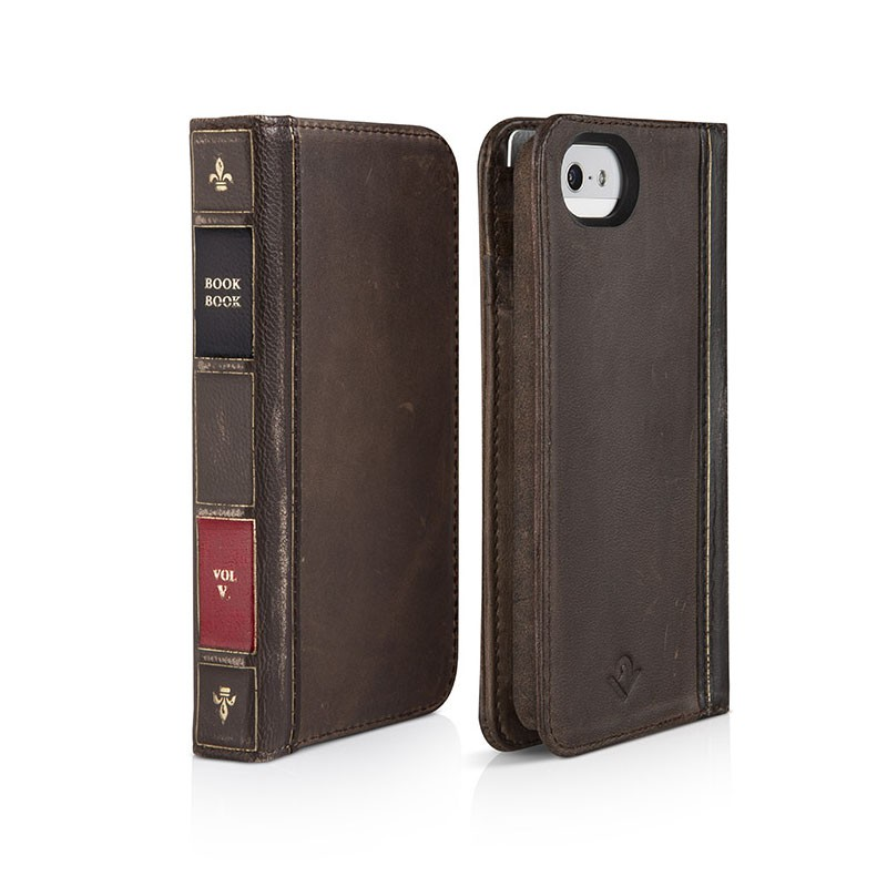 Twelve South BookBook iPhone 5 Vintage Brown - 1
