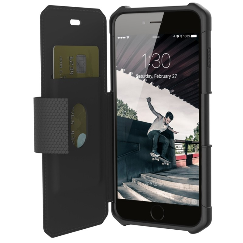 UAG - Metropolis iPhone 7/6S/6 Plus Folio Black 02