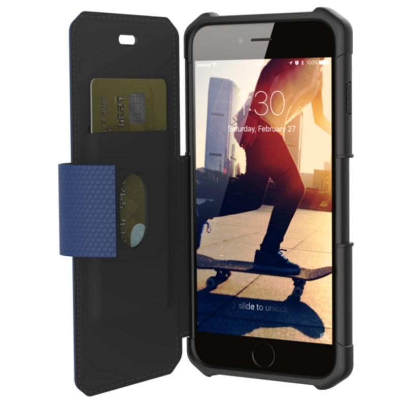 UAG - Metropolis iPhone 7/6S/6 Plus Folio Cobalt Blue 03