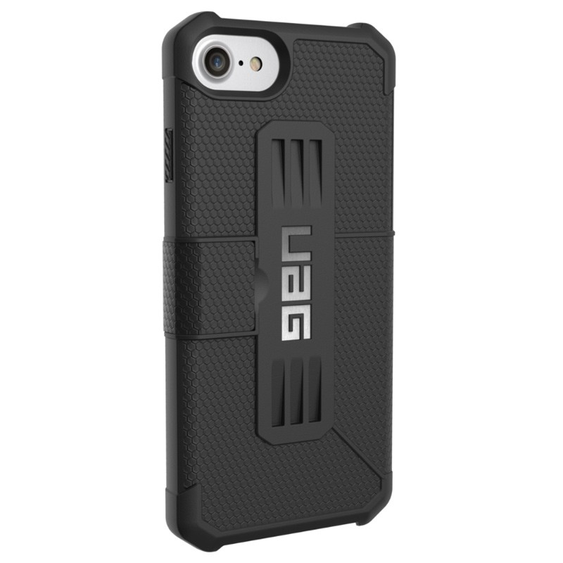 UAG - Metropolis iPhone 7/6S/6 Folio hoes Black 05