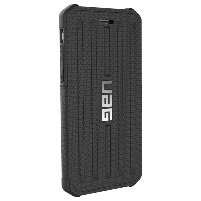 UAG - Metropolis iPhone 7/6S/6 Folio hoes Black 06
