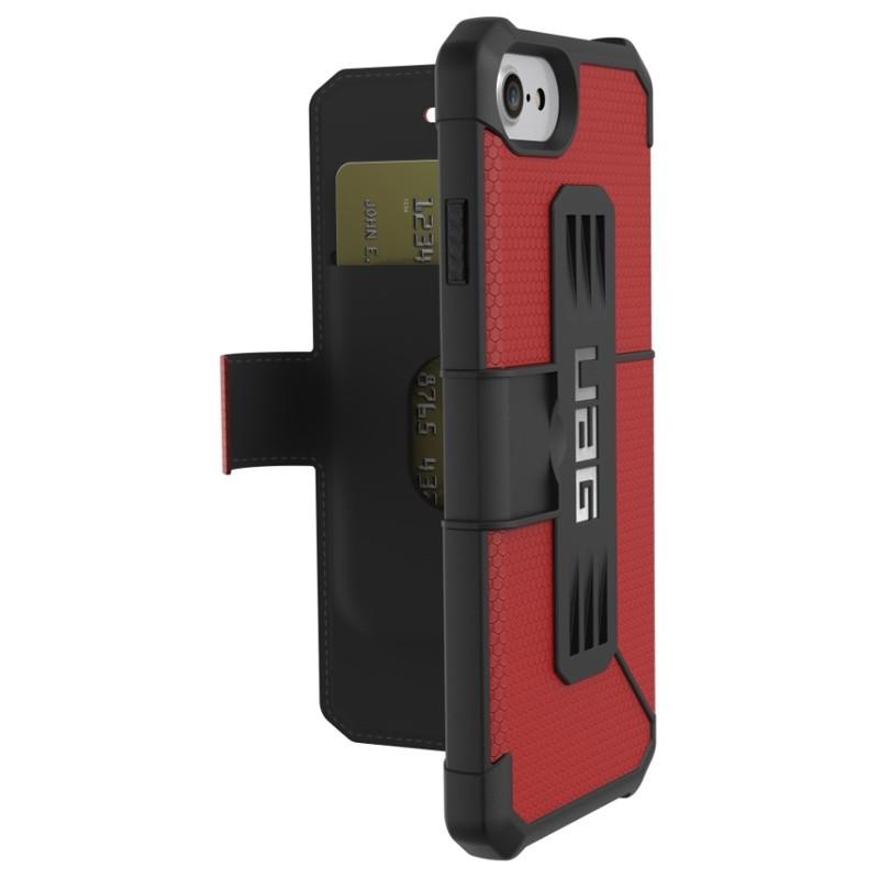 UAG - Metropolis iPhone 7/6S/6 Folio hoes Red 01