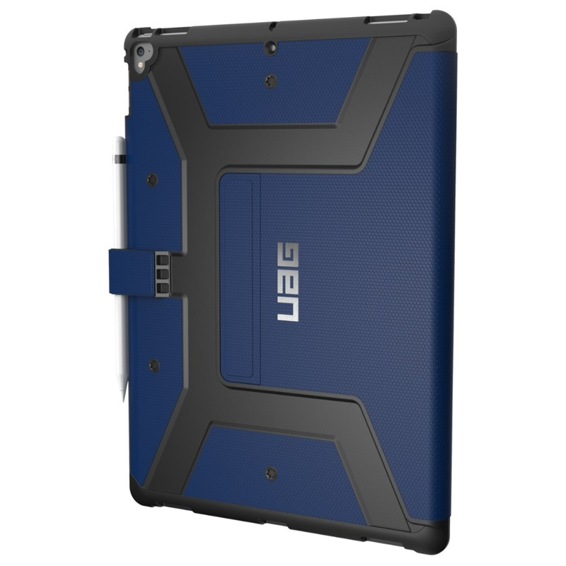 UAG - Metropolis iPad Pro 12.9 Folio Case Blue 02