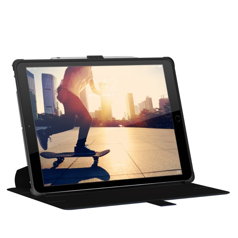 UAG - Metropolis iPad Pro 12.9 Folio Case Blue 08