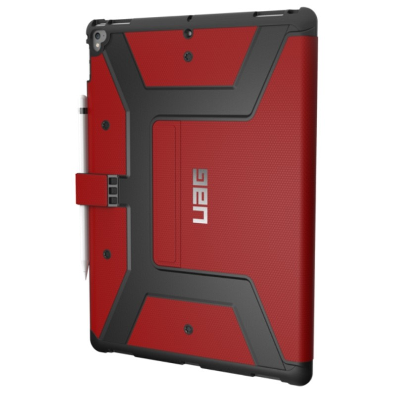UAG - Metropolis iPad Pro 12.9 Folio Case Red 02