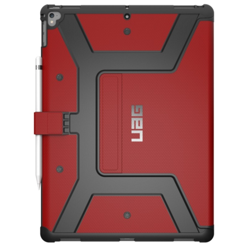 UAG - Metropolis iPad Pro 12.9 Folio Case Red 04