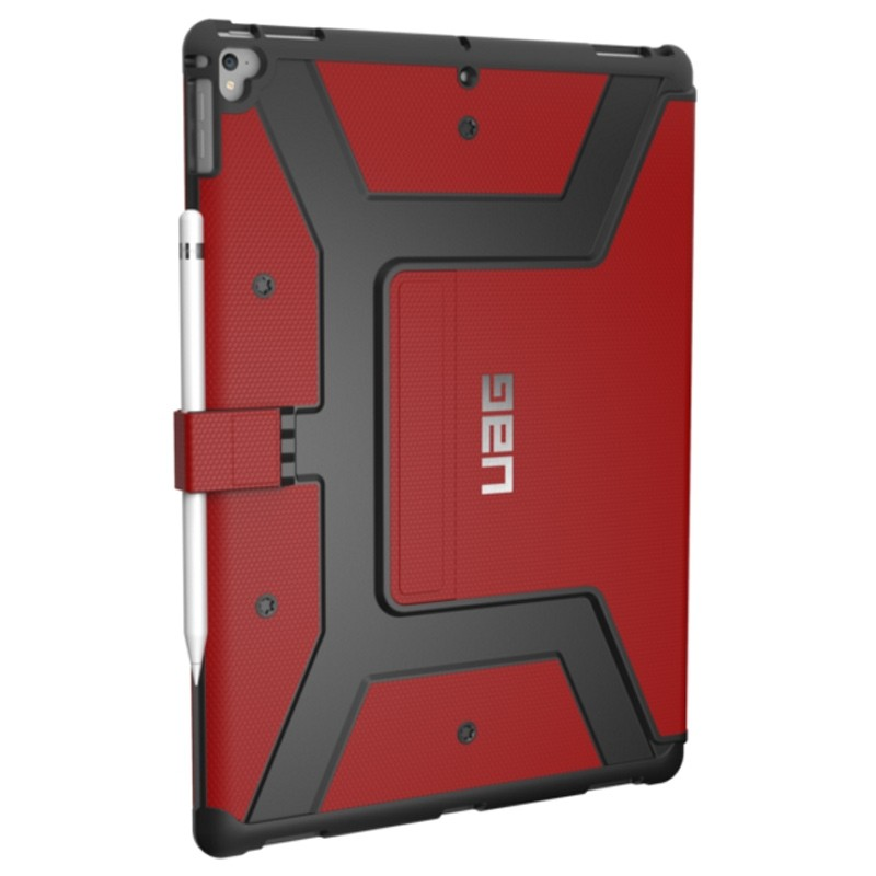 UAG - Metropolis iPad Pro 12.9 Folio Case Red 01