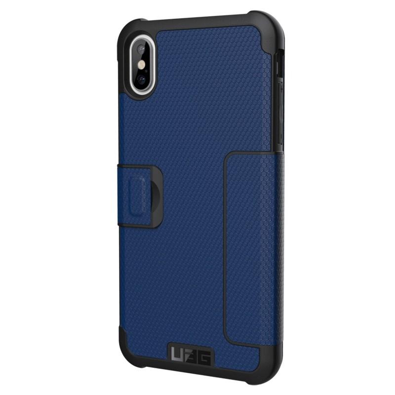 UAG Metropolis iPhone XS Max Hoesje Cobalt Blue 05