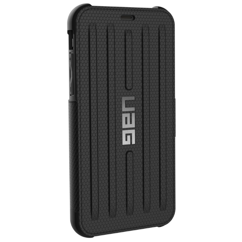 UAG - Metropolis iPhone X/Xs Folio Case Black 05