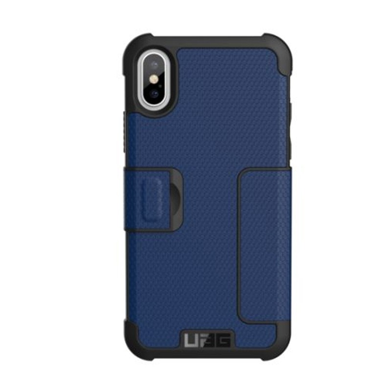 UAG Metropolis iPhone X/Xs Folio Case Cobalt Blue 02