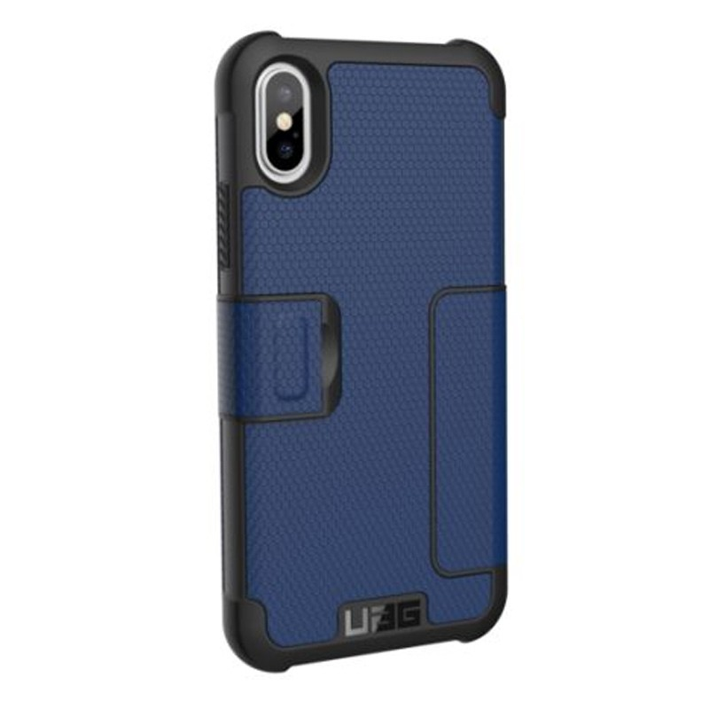 UAG Metropolis iPhone X/Xs Folio Case Cobalt Blue 04