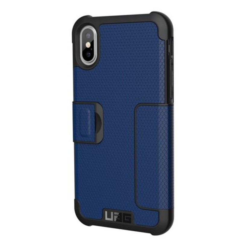 UAG Metropolis iPhone X/Xs Folio Case Cobalt Blue 06