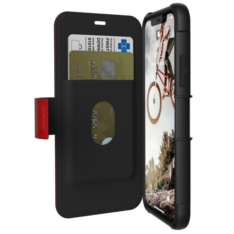UAG Metropolis iPhone X/Xs Folio Case Magma Red / Crimson Red 01