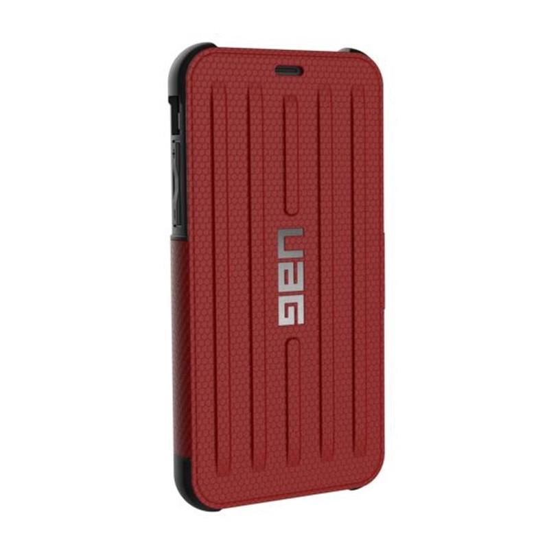UAG Metropolis iPhone X/Xs Folio Case Magma Red / Crimson Red 05