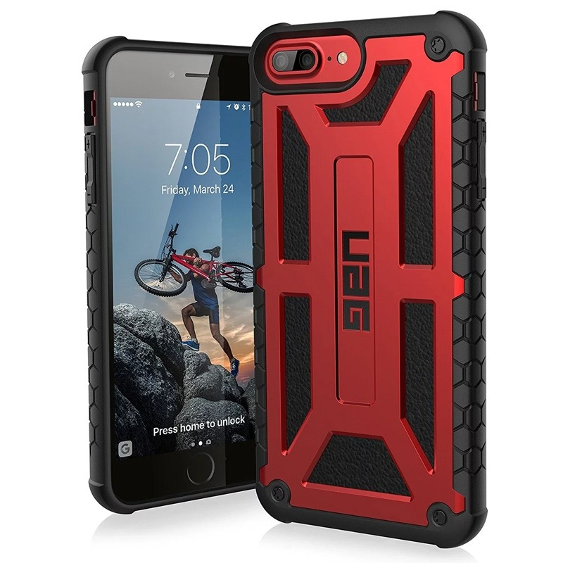 UAG Monarch iPhone 6 / 6s / 7 Plus Crimson Red 03