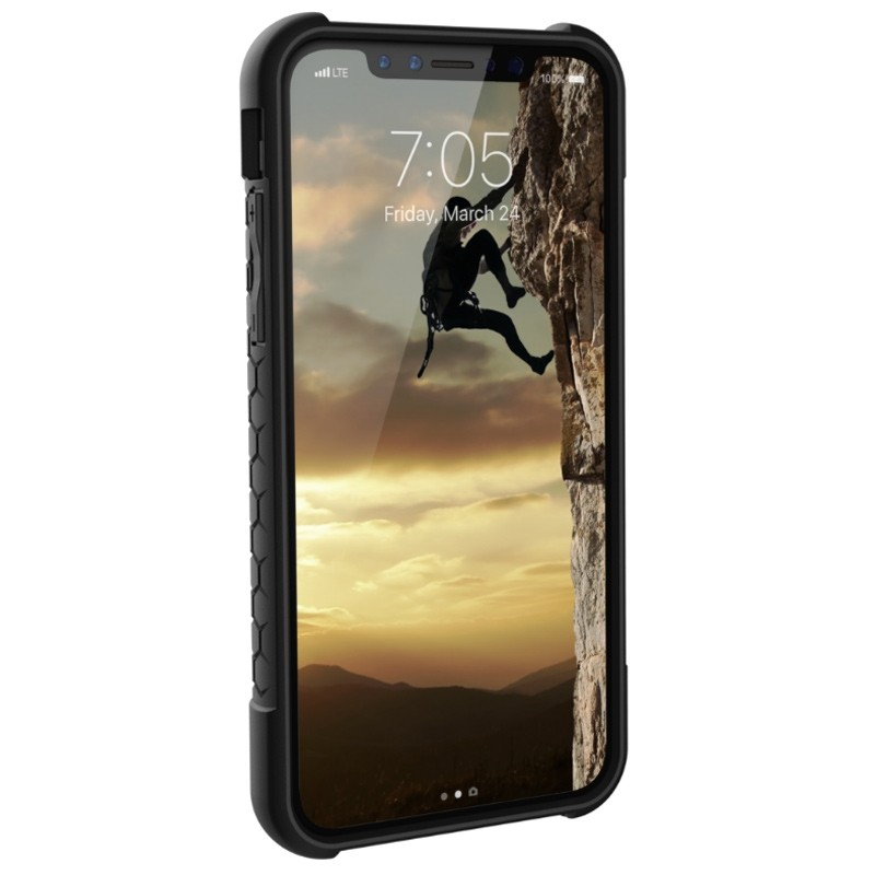 UAG - Monarch iPhone X Hoesje Graphite Black 02