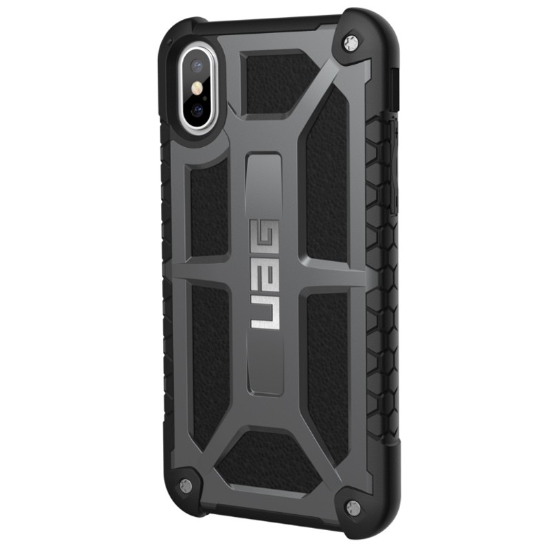 UAG - Monarch iPhone X/Xs Hoesje Graphite Black 03
