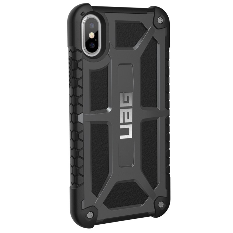 UAG - Monarch iPhone X/Xs Hoesje Graphite Black 04