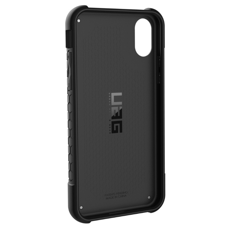 UAG - Monarch iPhone X/Xs Hoesje Graphite Black 05