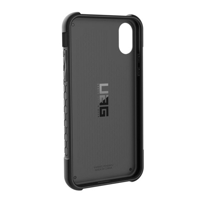 UAG Monarch iPhone X/Xs Hoesje Crimson Red / Black 05