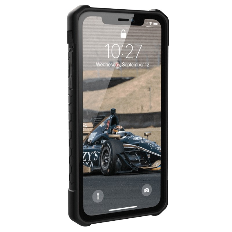 UAG Monarch iPhone XR Hoes Zwart 02