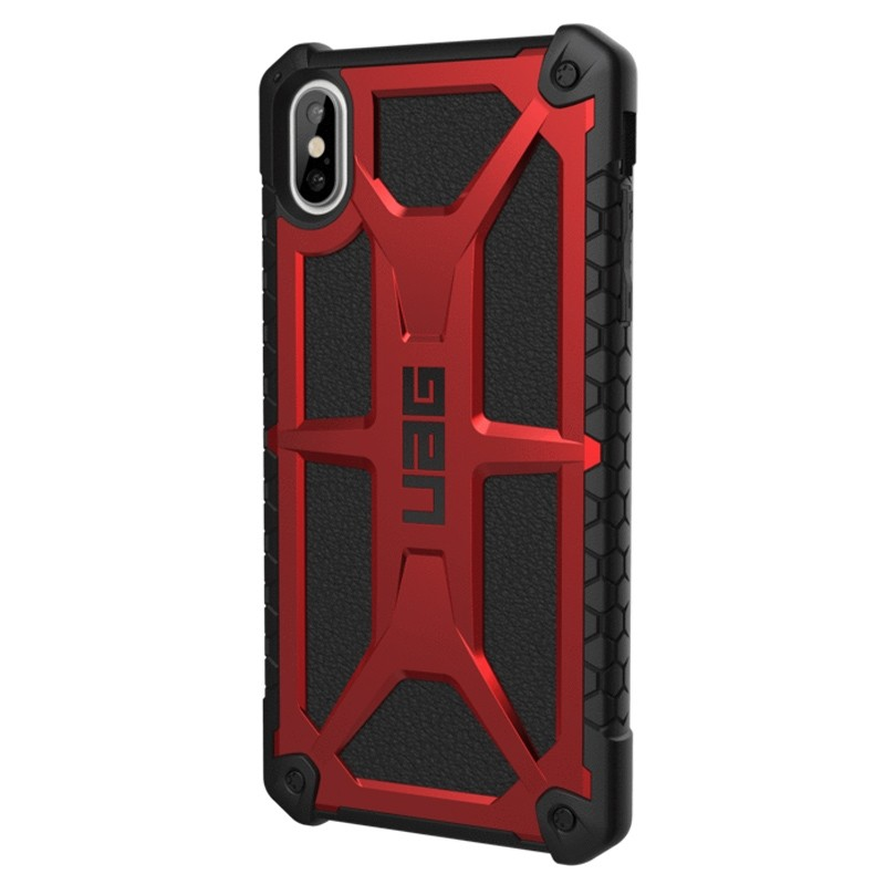 UAG Monarch iPhone XS Max Crimson Red 03
