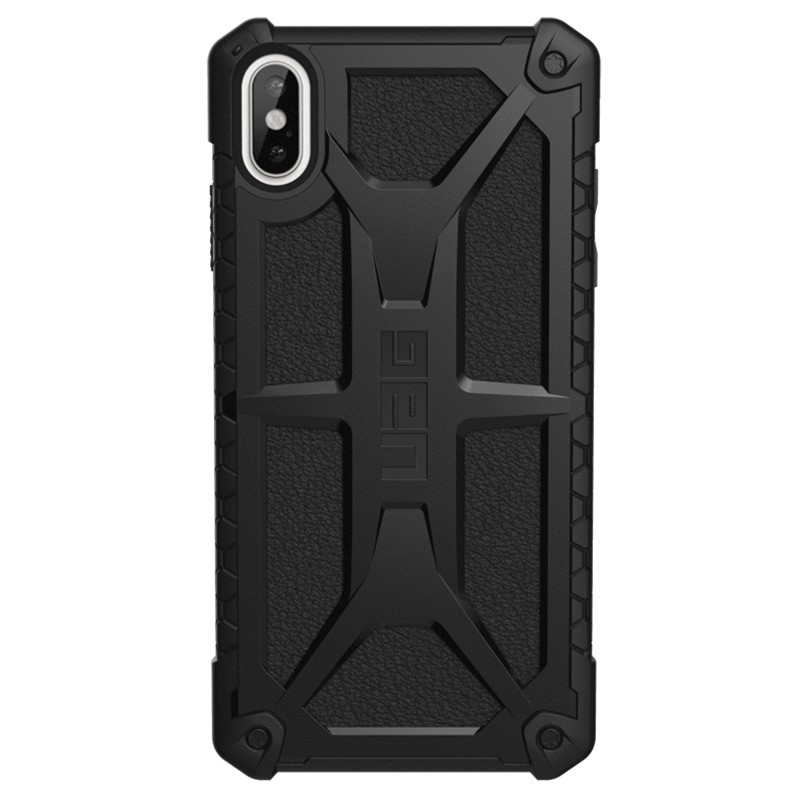 UAG Monarch iPhone XS Max Zwart 01