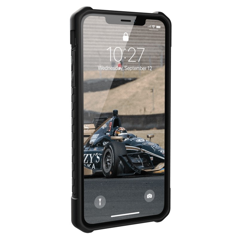 UAG Monarch iPhone XS Max Zwart 02