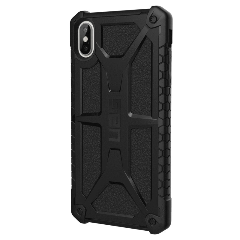 UAG Monarch iPhone XS Max Zwart 03