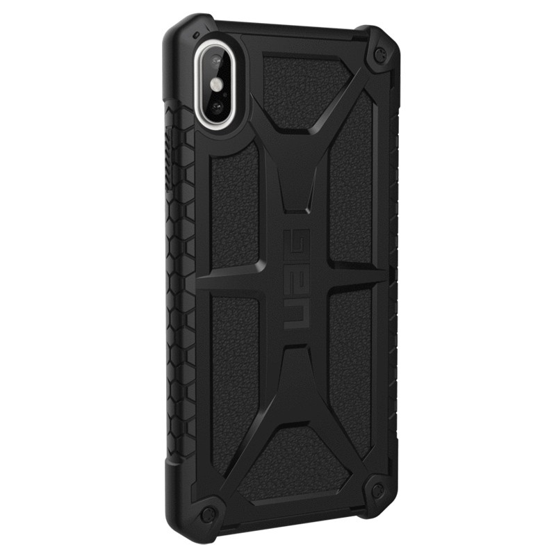 UAG Monarch iPhone XS Max Zwart 04
