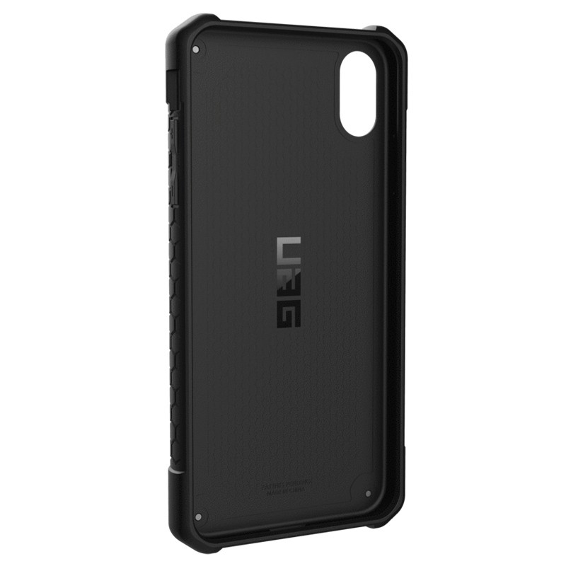 UAG Monarch iPhone XS Max Carbon Zwart 05