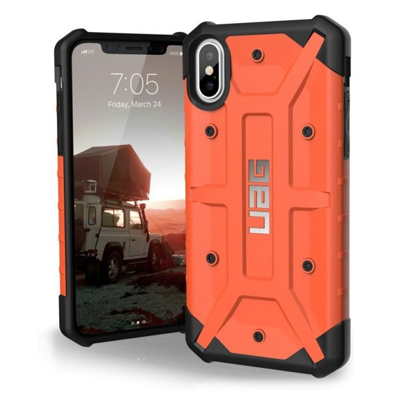 UAG Pathfinder iPhone X/Xs Hoesje Rust Orange 03