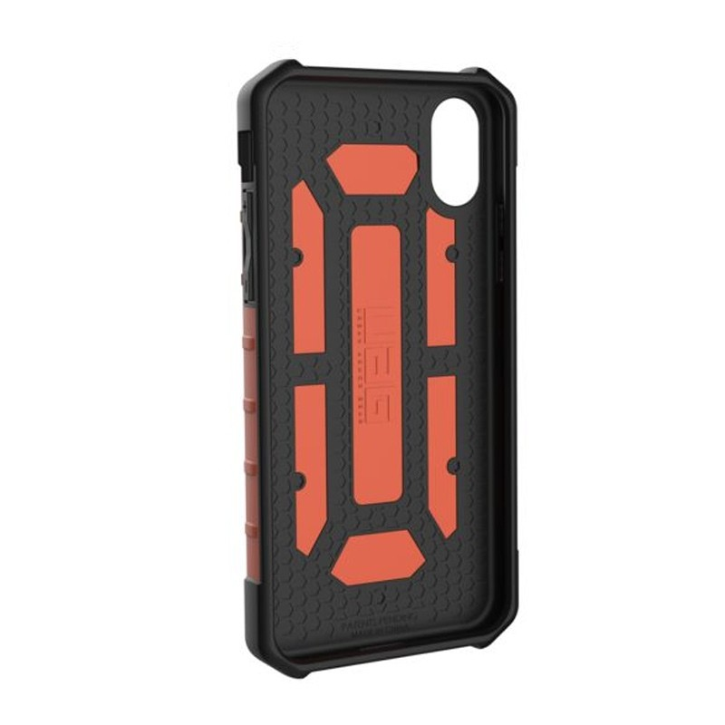 UAG Pathfinder iPhone X/Xs Hoesje Rust Orange 06