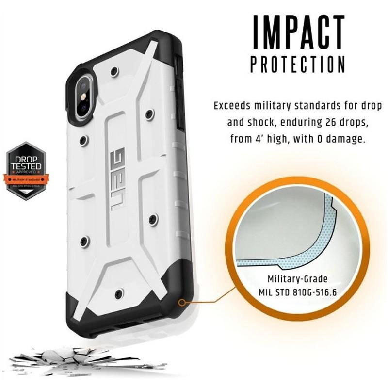 UAG Pathfinder iPhone X Hoesje White 08