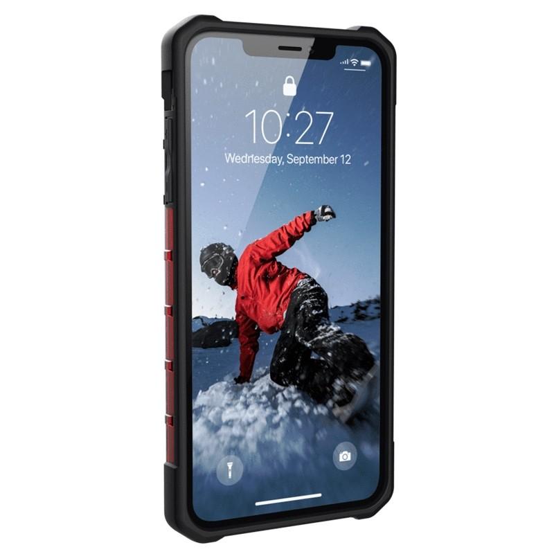 UAG Plasma Case iPhone XS Max Hoesje Magma rood 02