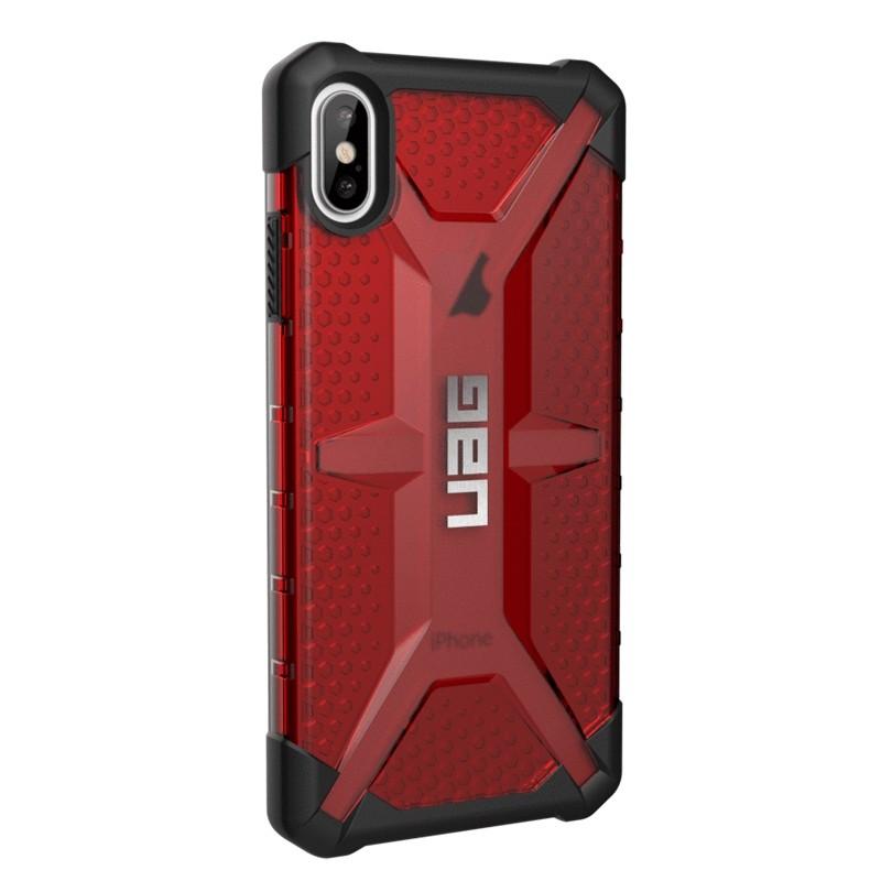 UAG Plasma Case iPhone XS Max Hoesje Magma rood 04
