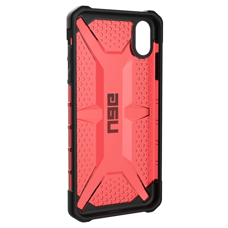 UAG Plasma Case iPhone XS Max Hoesje Magma rood 05