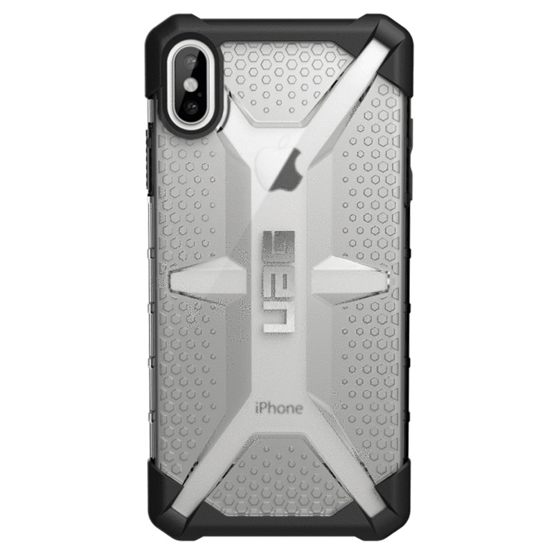 UAG Plasma Case iPhone XS Max Hoesje Ice Clear 01