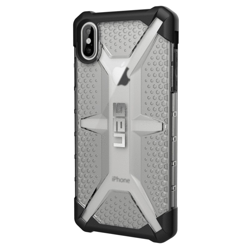 UAG Plasma Case iPhone XS Max Hoesje Ice Clear 03