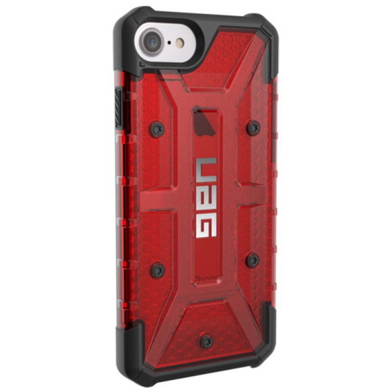 UAG Plasma Hard Case iPhone 7 Magma Red - 3