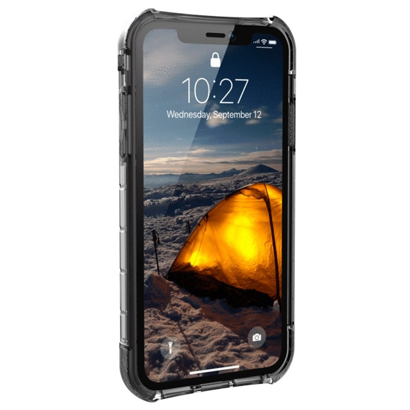 UAG Plasma iPhone XR Hoesje Ice Clear Transparant 02