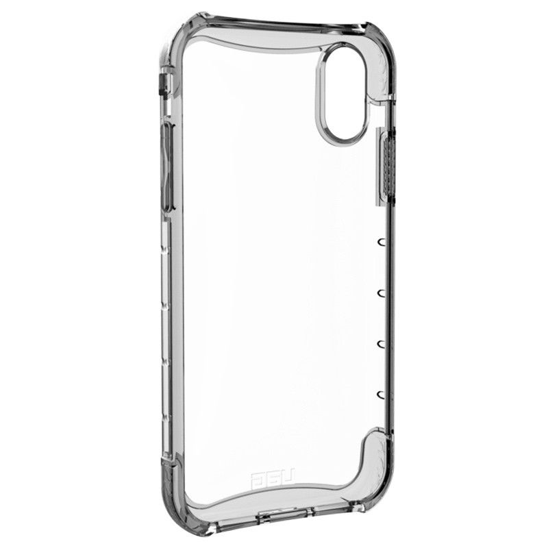 UAG Plasma iPhone XR Hoesje Ice Clear Transparant 04